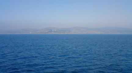 タンジェの海