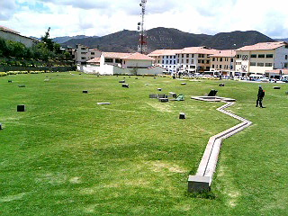 インカ時代の水道