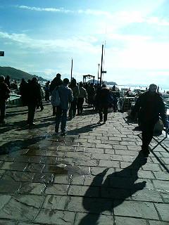 ティティカカ湖港