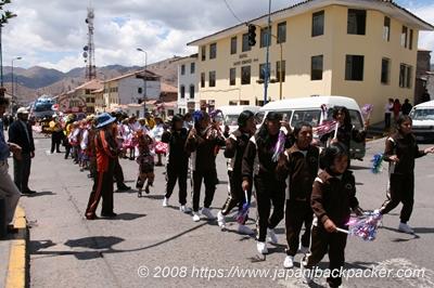 クスコのパレード
