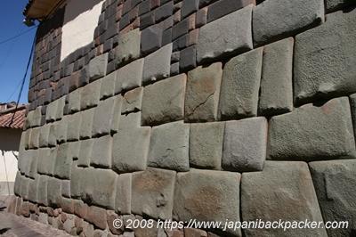 インカ時代の壁