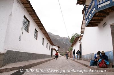 ペルーの村
