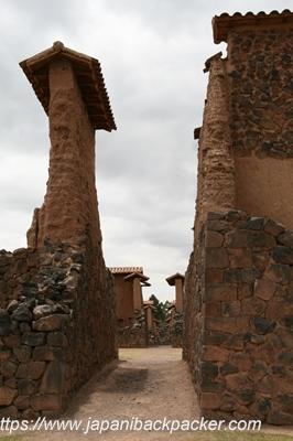 ペルーの寺院跡