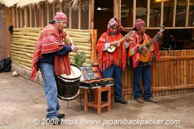 ペルーの民族バンド