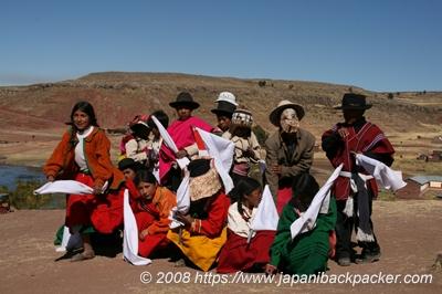 ペルーの子供達