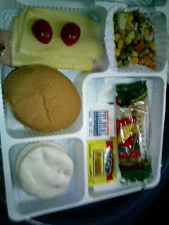 バスの食事