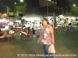 タイの屋台街