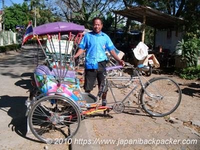 チェンライの自転車