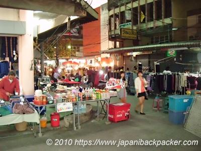 チェンライのナイトマーケット