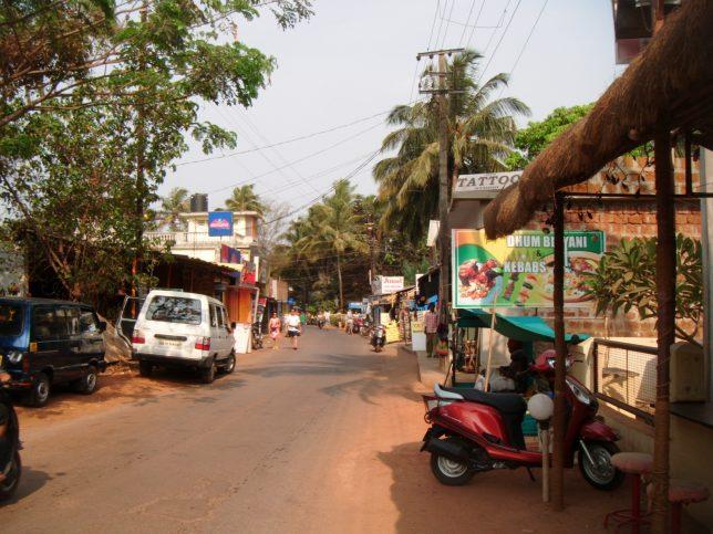 アンジュナビーチ インド