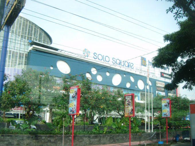 ジャワ島ソロの街
