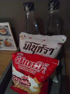 Nap hotelのサービス菓子