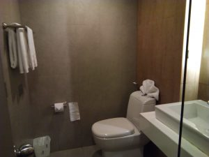 Nap hotel トイレ