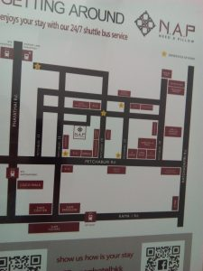 Nap hotel の地図