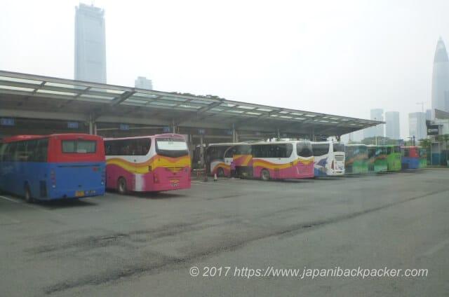 中国バスターミナル