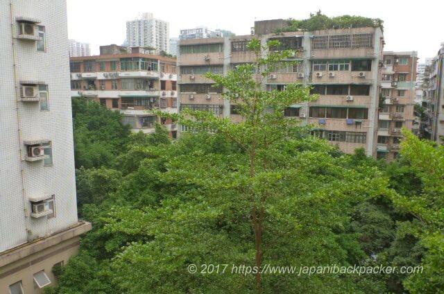 7daysinn広州から見た景色