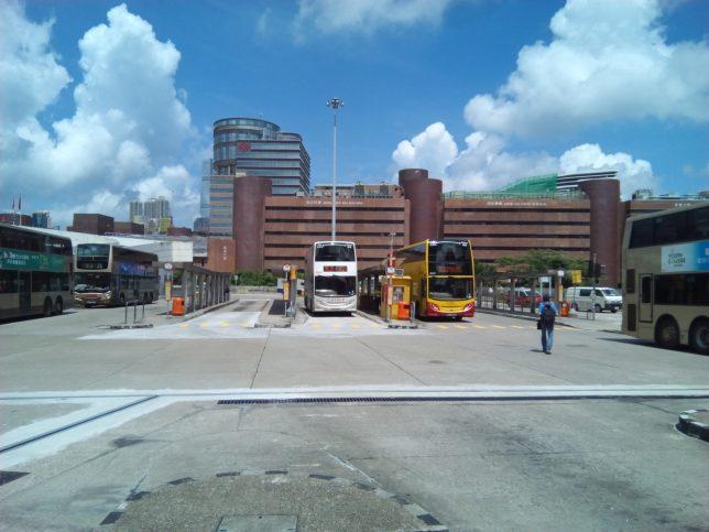 香港エアポートバスA21ホンハム駅乗り場