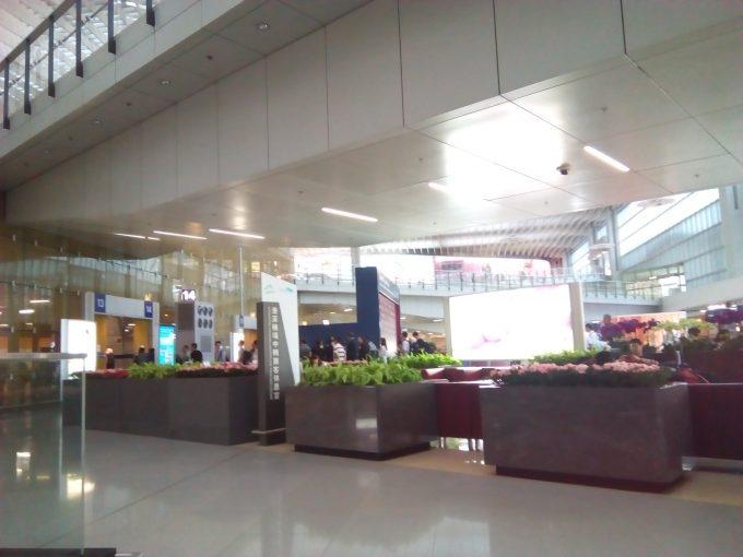 香港空港の中国行きバス乗り場