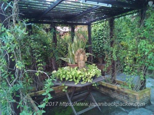 チェンマイのホテルBaan 5/9の庭