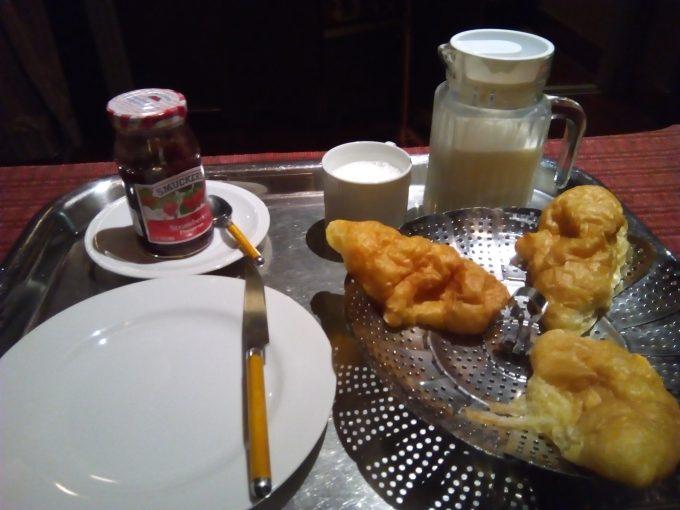 チェンマイのホテルBaan 5/9の朝食
