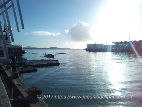 オーkランドの港