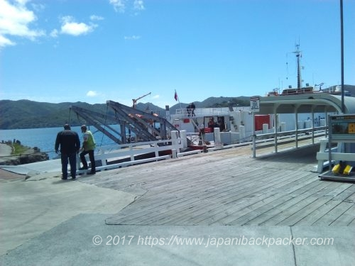 グレートバリア島Tryphena 港