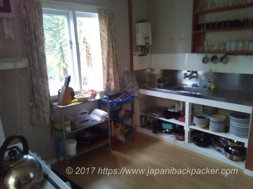 Medlands Beach Backpackers のキッチン