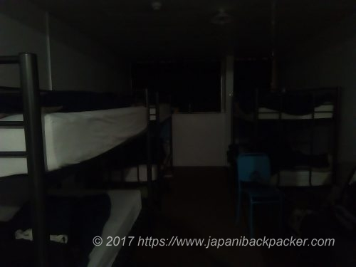 The Attic Backpackersのドミトリー