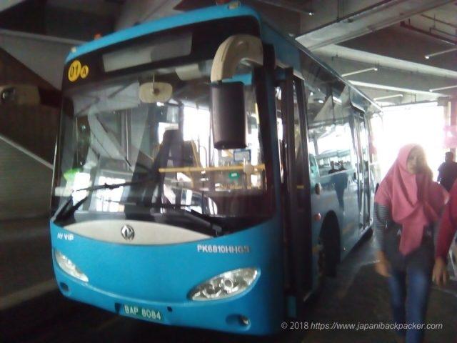 ブルネイのA1バス