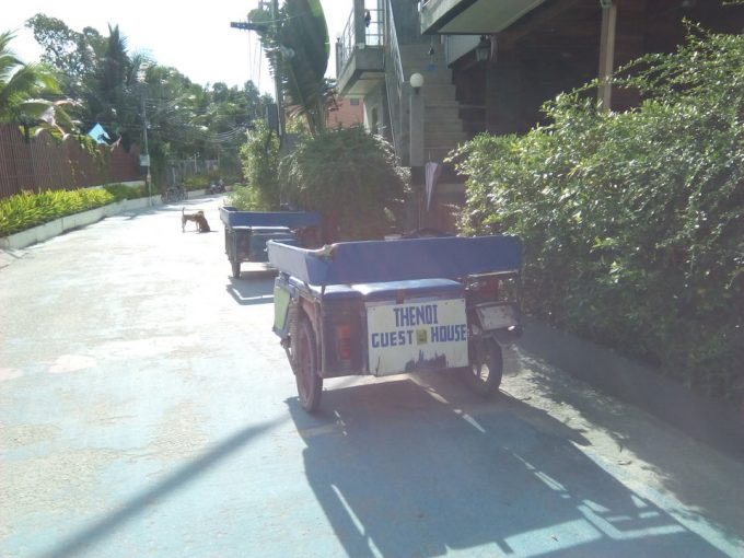 リペ島のタクシー