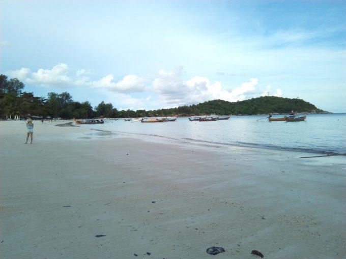 夕方のパタヤビーチ