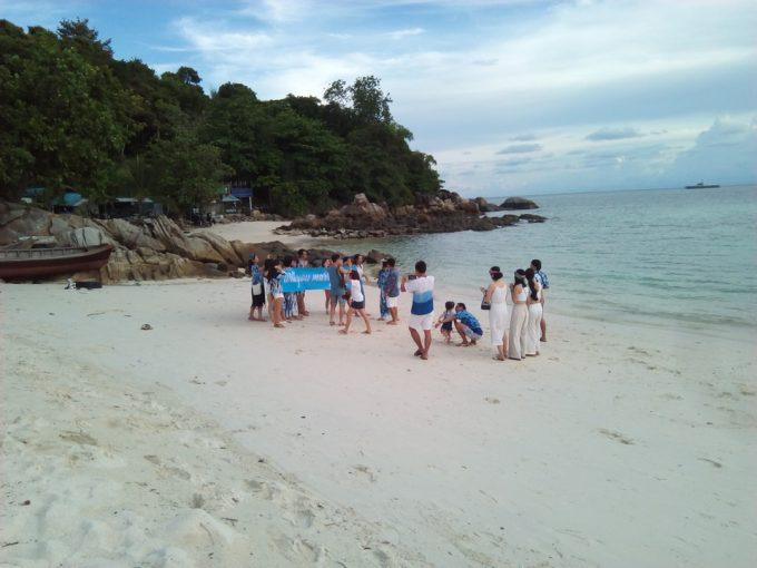 リペ島パタヤビーチの結婚式