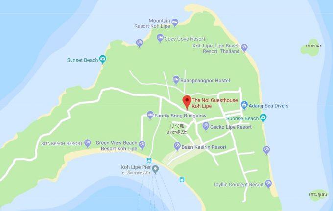 リペ島地図