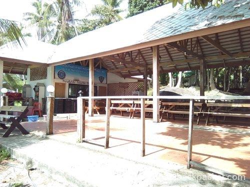漁業組合の食堂