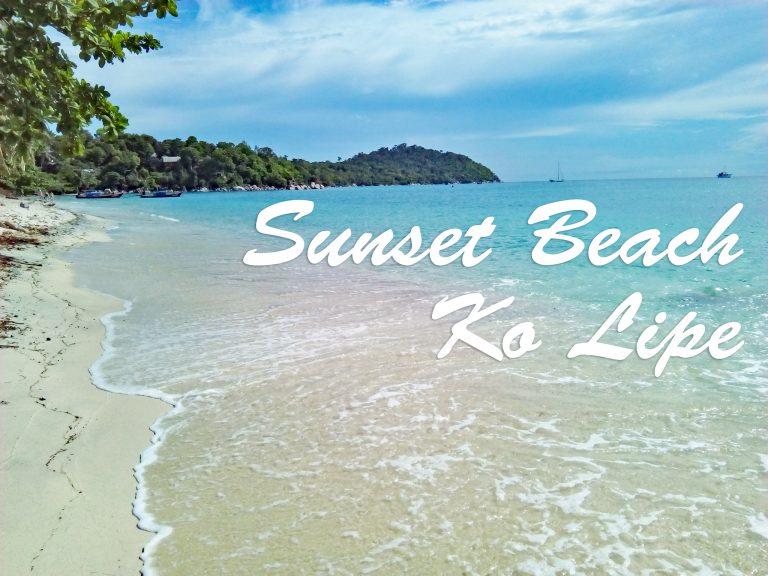 リペ島サンセットビーチ