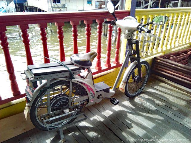 電動ハイブリッドバイク