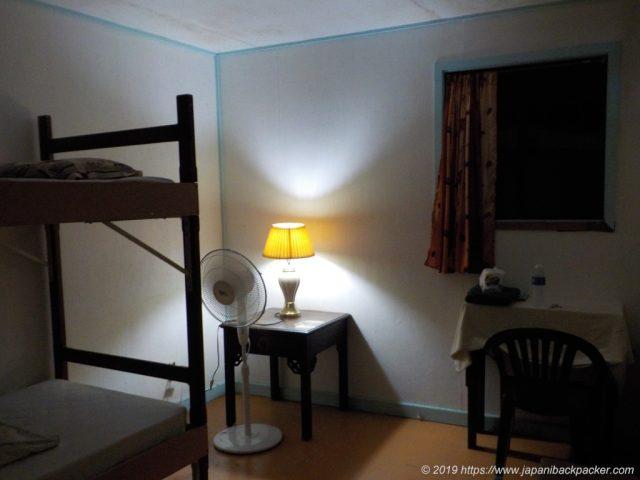 二段ベッド部屋