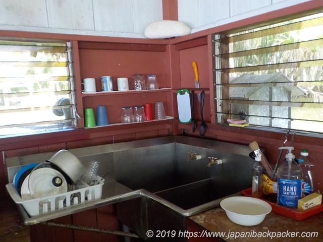 エネコ島のキッチン