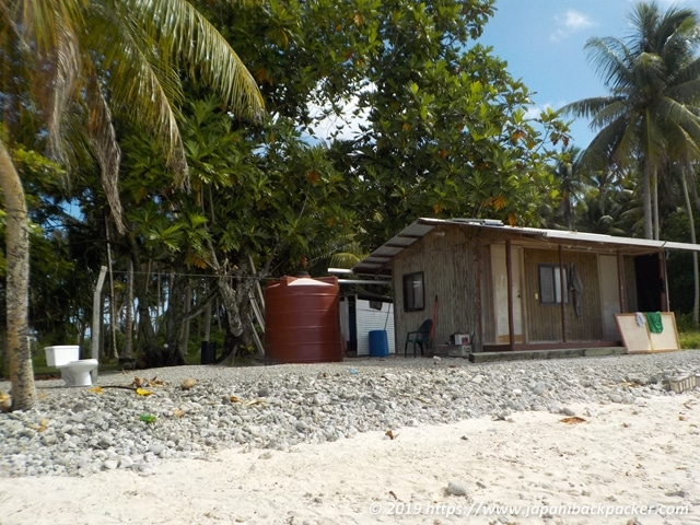 エネコ島の民家