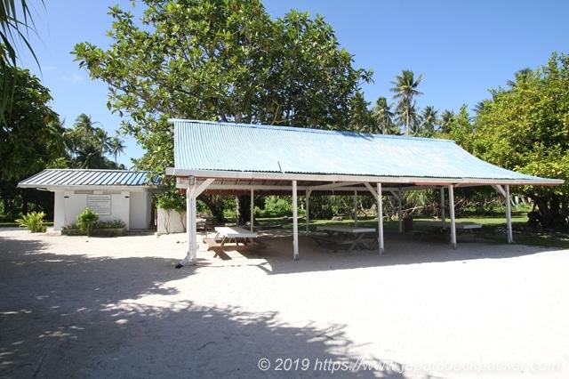 エネコ島の休憩所