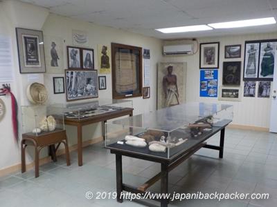アレレ博物館の展示