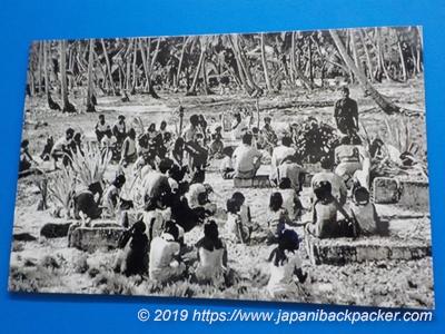 祈るビキニ環礁の人々