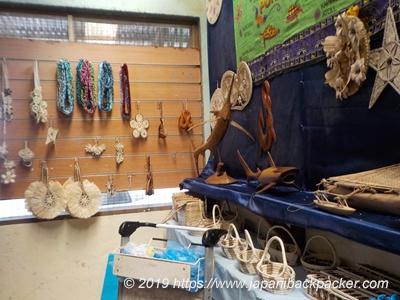 ミクロネシアの工芸品