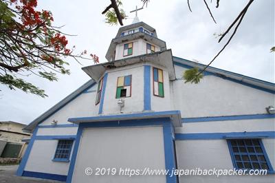 マジュロの教会