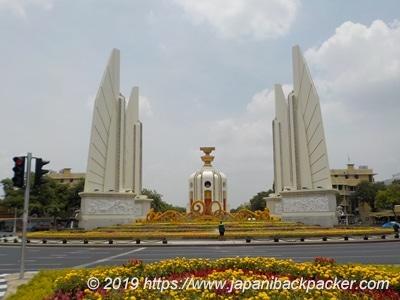 バンコクの民主記念碑