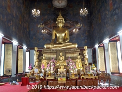 ワット・ラチャナダラムの仏像