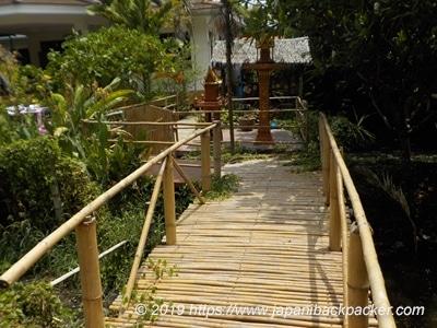 バーンガジャオの藁の橋