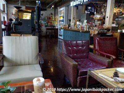 バンナーのコーヒーショップ