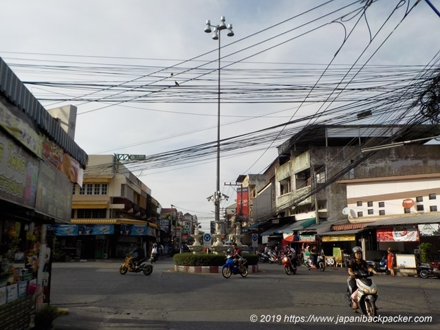 Santitham通りチェンマイ
