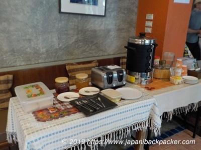 サンシャインハウスの朝食